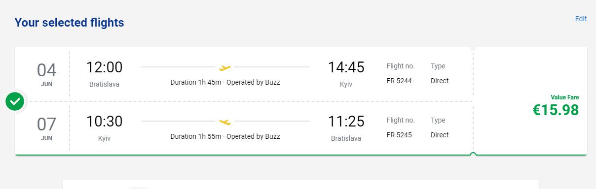 Kyjev z Bratislavy aj na predĺžený víkend s letenkami od 16 eur
