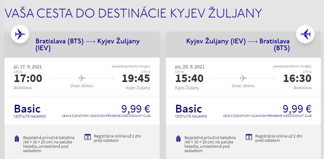 Kyjev z Bratislavy aj na predĺžený víkend s letenkami od 20 eur