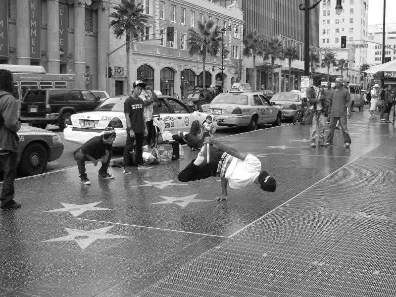 LA - chodník slávy