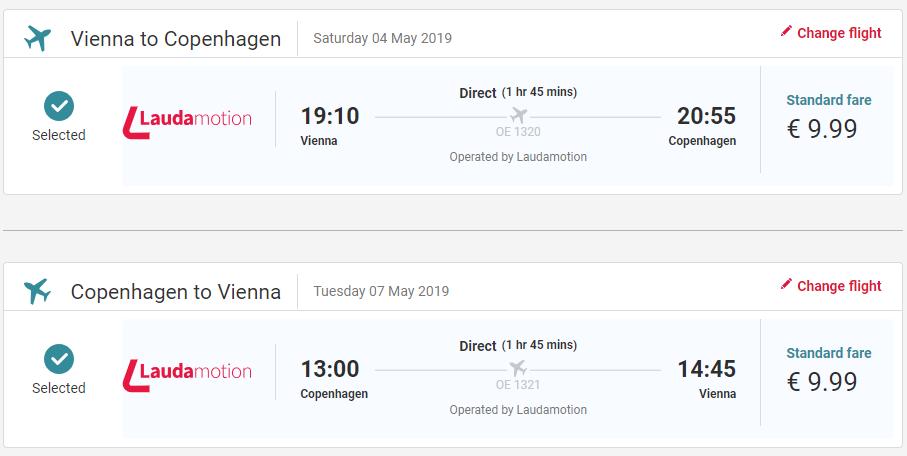 LETENKY DO DÁNSKA - Kodaň z Viedne od 20 eur