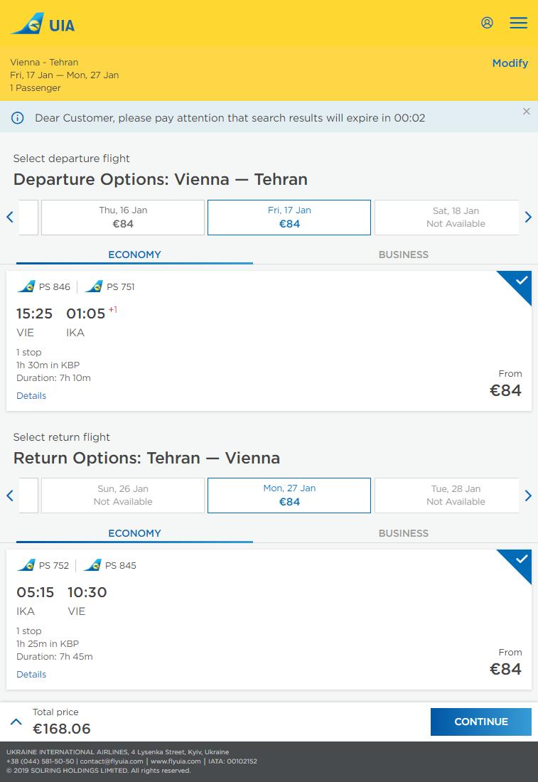 LETENKY DO IRÁNU - Teherán z Viedne už od 168 eur