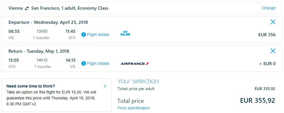 LETENKY DO KALIFORNIE - San Francisco z Viedne od 356 eur