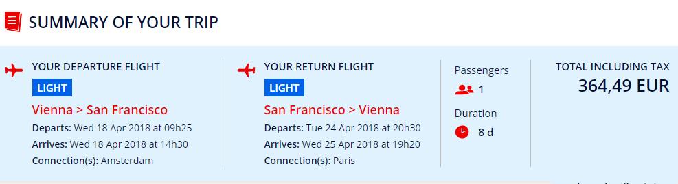 LETENKY DO KALIFORNIE - San Francisco z Viedne od 364 eur