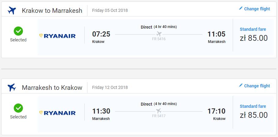 LETENKY DO MAROKA - Marakéš z Krakova už od 39 eur