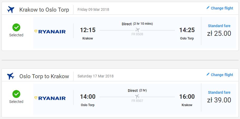 LETENKY DO NÓRSKA - Oslo z Krakova začiatkom jari od 15 eur