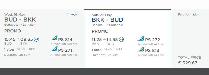 LETENKY DO THAJSKA - Bangkok z Budapešti od 329 eur
