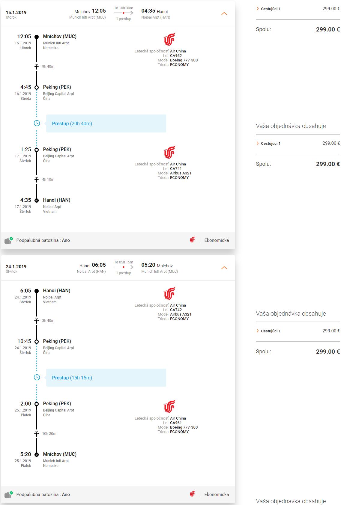 LETENKY DO VIETNAMU - Hanoj z Mníchova už od 299 eur