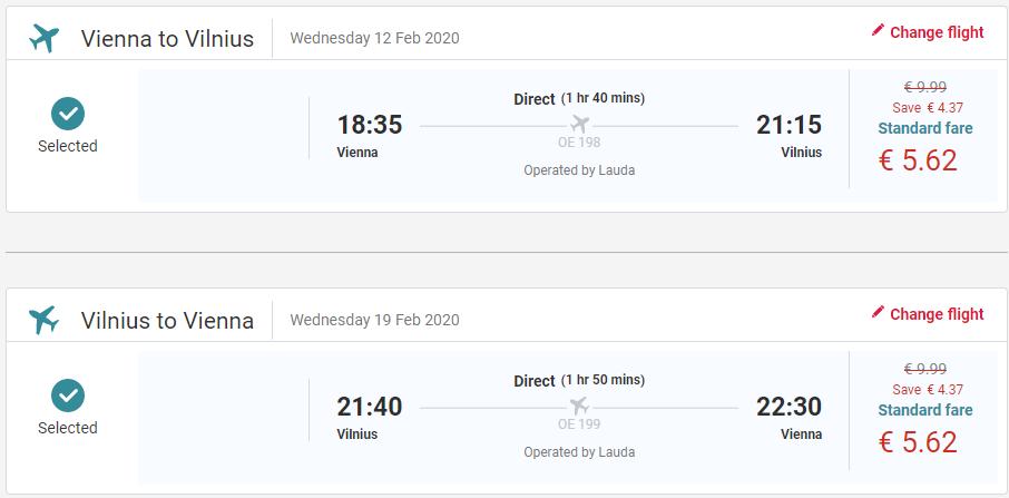 LITVA - Vilnius z Viedne s letenkami od 11 eur
