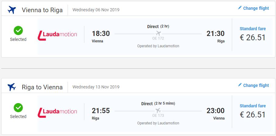 LOTYŠSKO - Riga z Viedne s letenkami od 53 eur