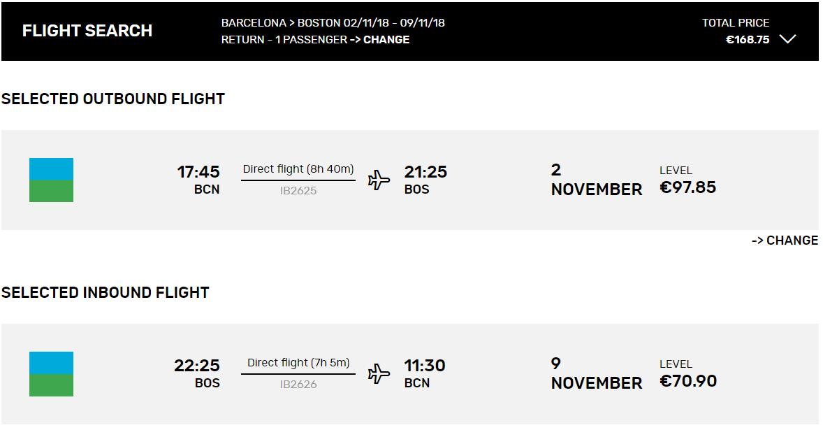 Lacné letenky z Barcelony do Bostonu od 169 eur