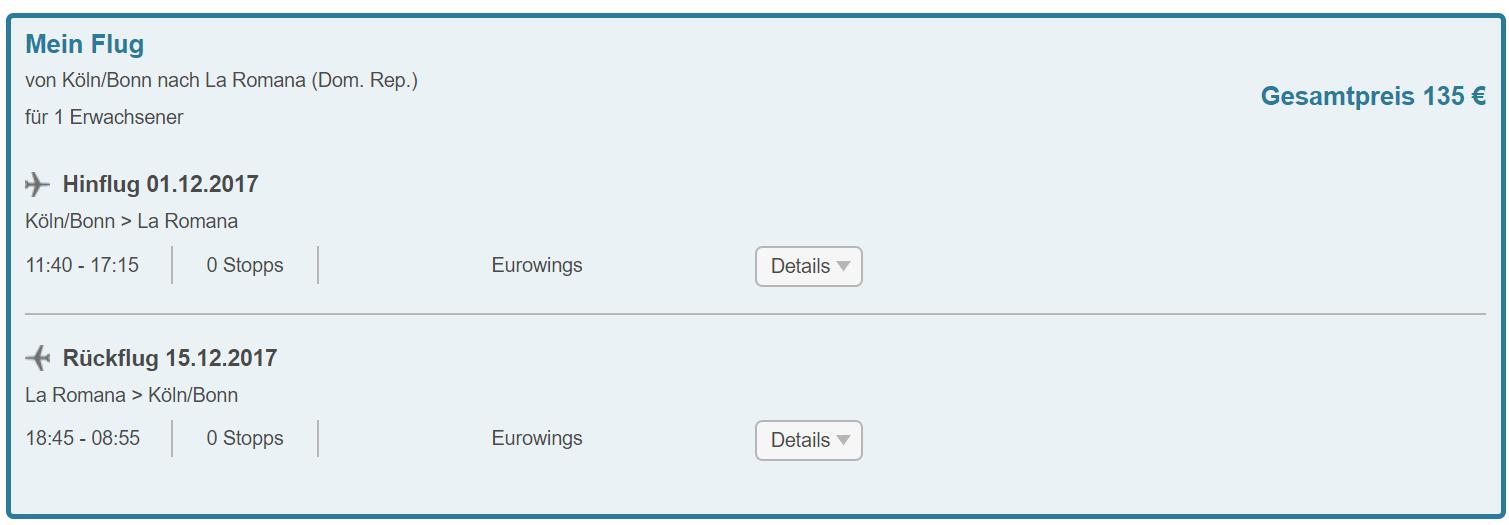 Last minute letenky z Kolína do La Romana od 135 eur