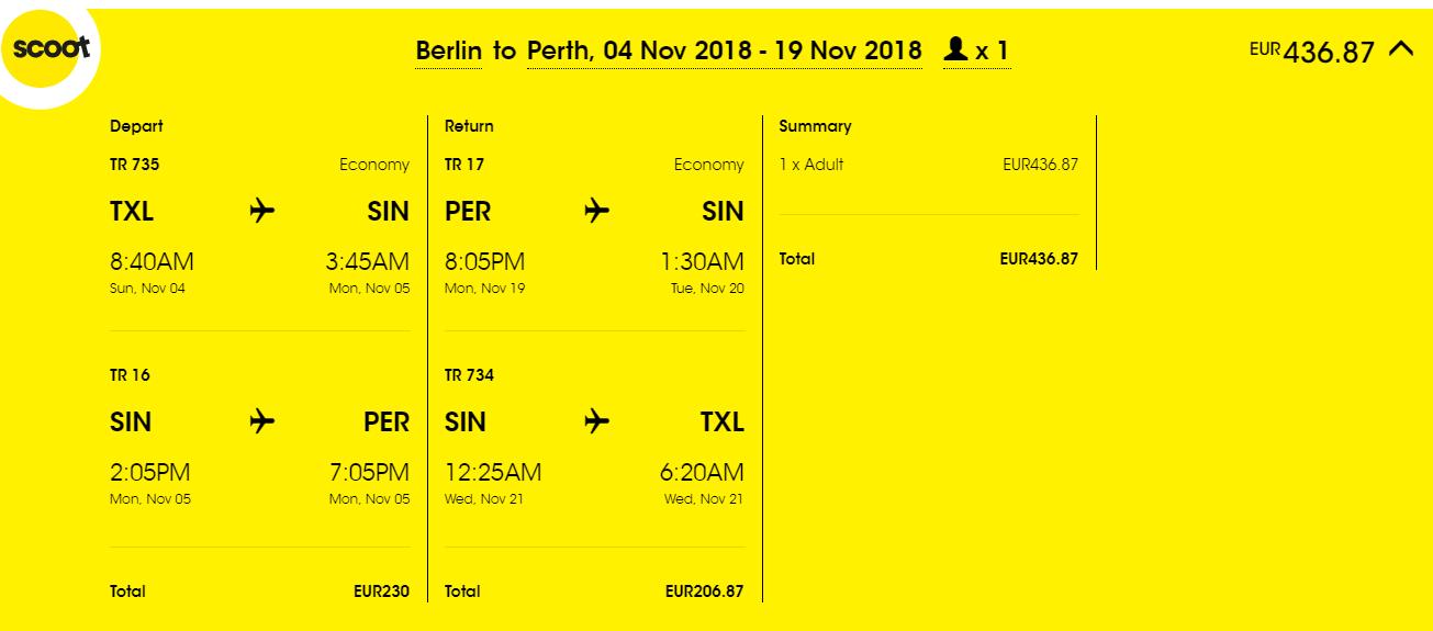 Letenky z Berlína do Melbourne, Sydney alebo Perthu od 437 eur