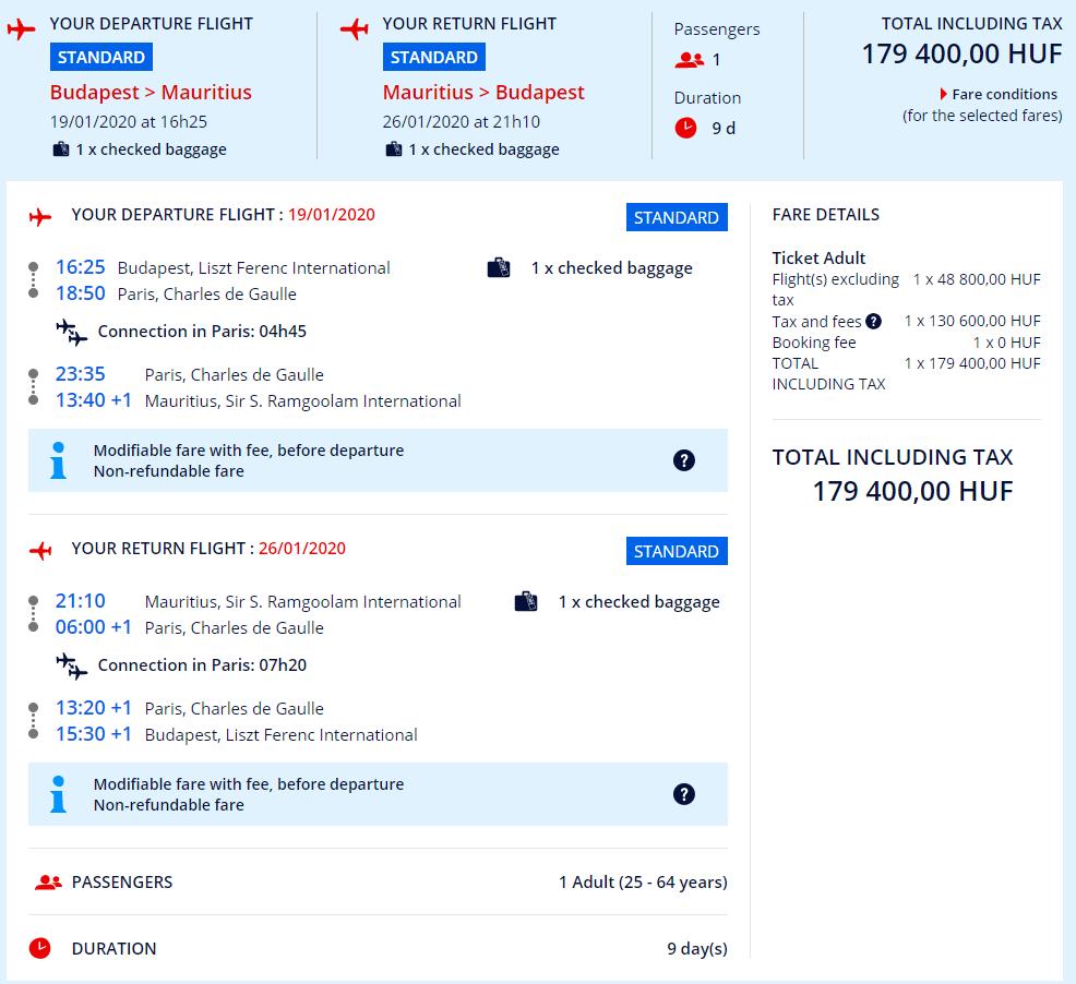 Letenky z Budapešti aj s veľkou batožinou od 535 eur