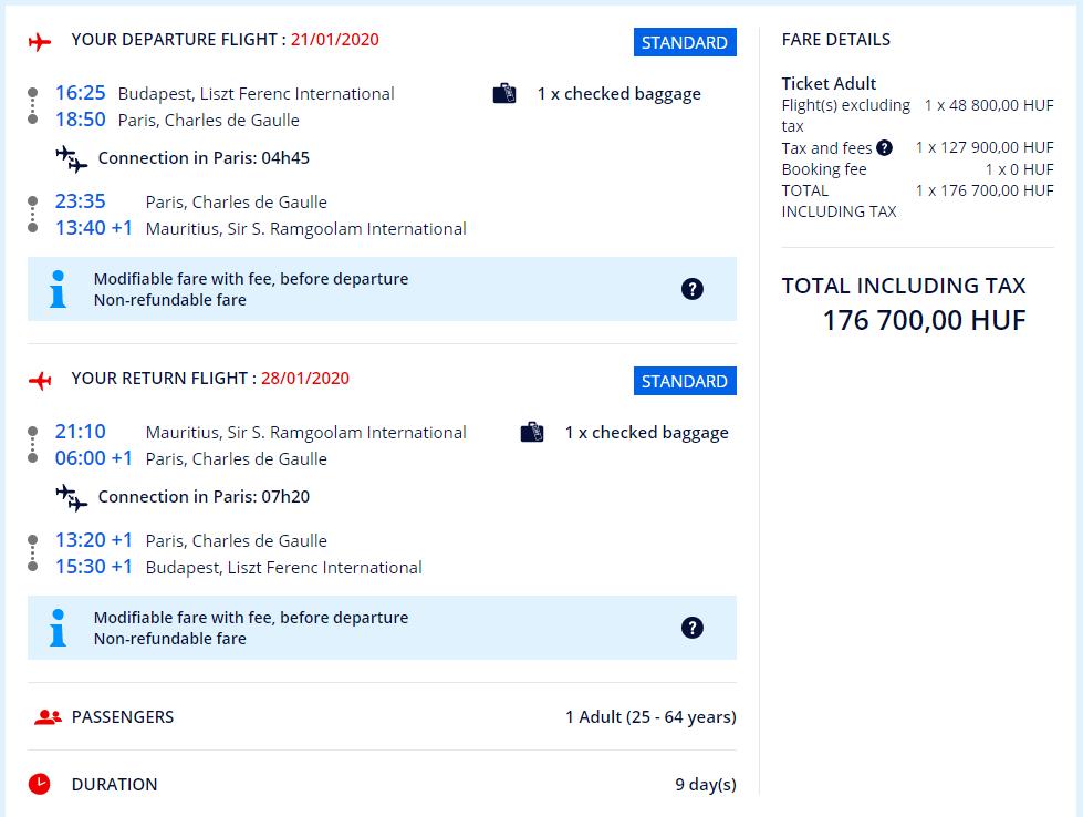 Letenky z Budapešti aj s veľkou batožinou od 539 eur