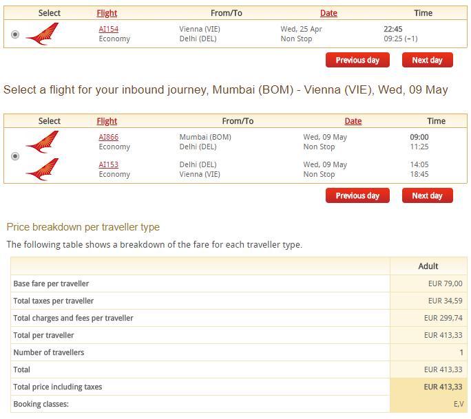 Letenky z Viedne do Dillí a s návratom z Bombaja už od 413 eur