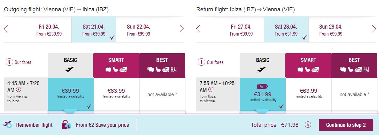 Letenky z Viedne na Ibizu od 72 eur
