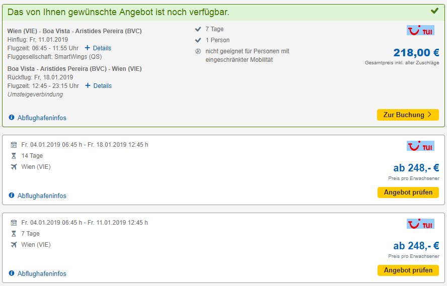 Letenky z Viedne na Kapverdy od 218€