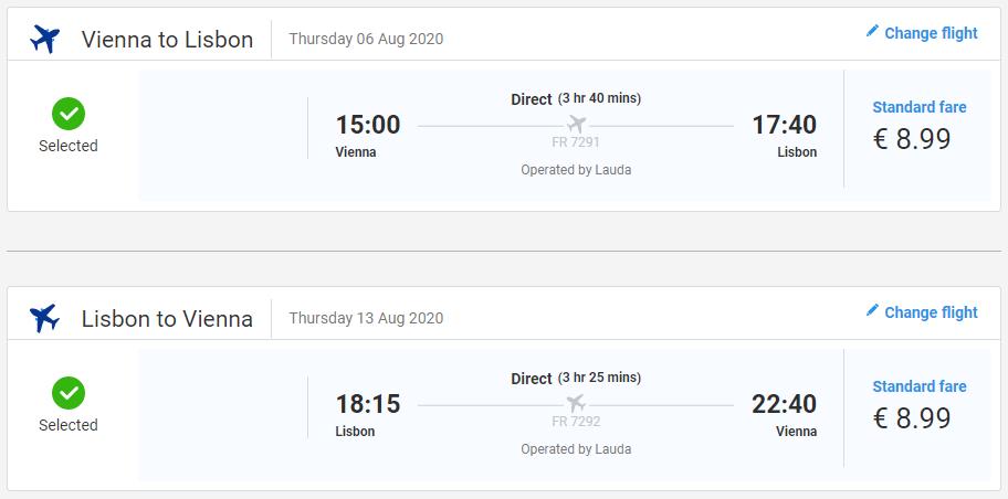 Lisabon cez letné prázdniny. Letenky z Viedne od 18 eur