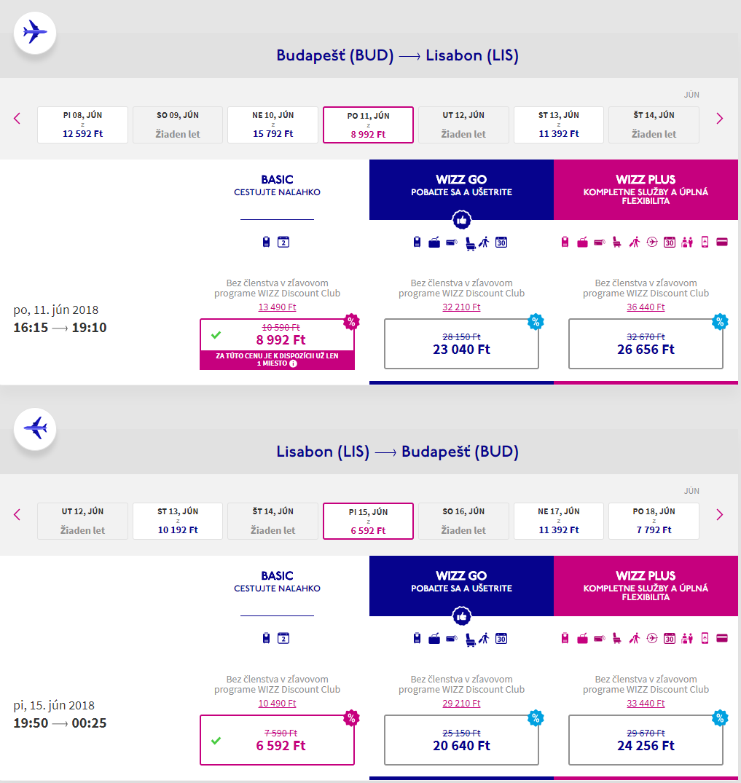 Lisabon v júnových termínoch s letenkami od 49 eur