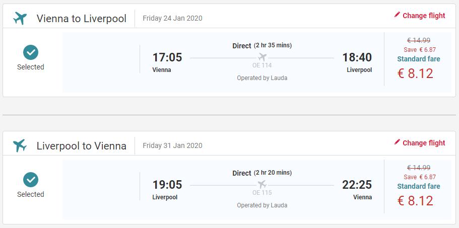 Liverpool z Viedne s letenkami už od 16 eur