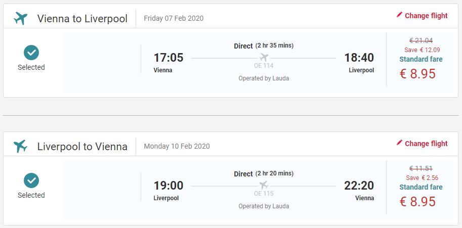 Liverpool z Viedne s letenkami už od 18 eur