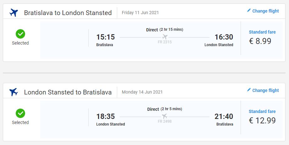 Londýn aj na predĺžený víkend. Spiatočné letenky z Bratislavy od 22 eur