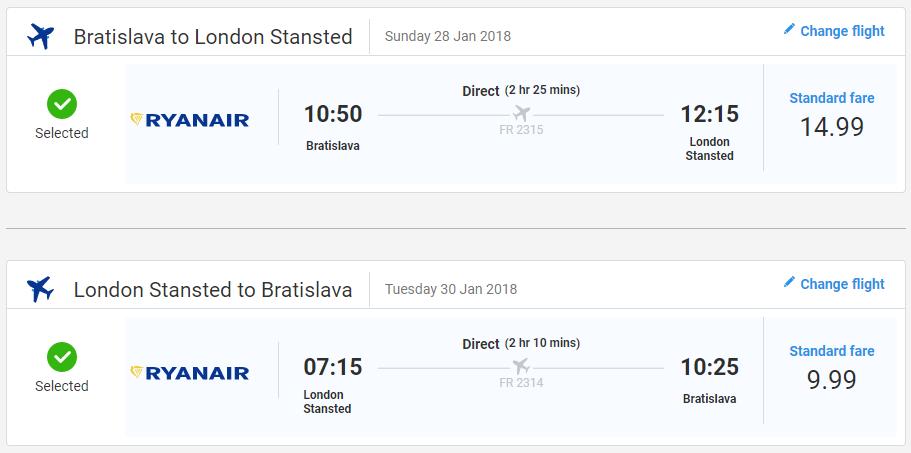 Londýn s lacnými letenkami z Bratislavy od 25 eur