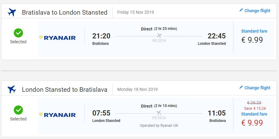Londýn z Bratislavy s letenkami aj na predĺžený víkend už od 20 eur