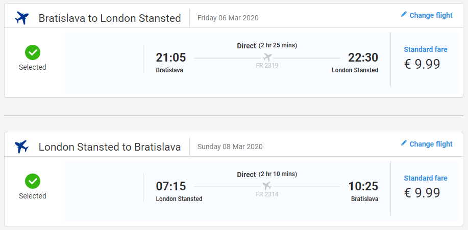 Londýn z Bratislavy s letenkami aj na víkend už od 20 eur