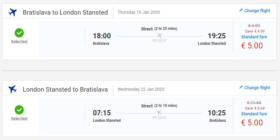Londýn z Bratislavy s letenkami od 10 eur