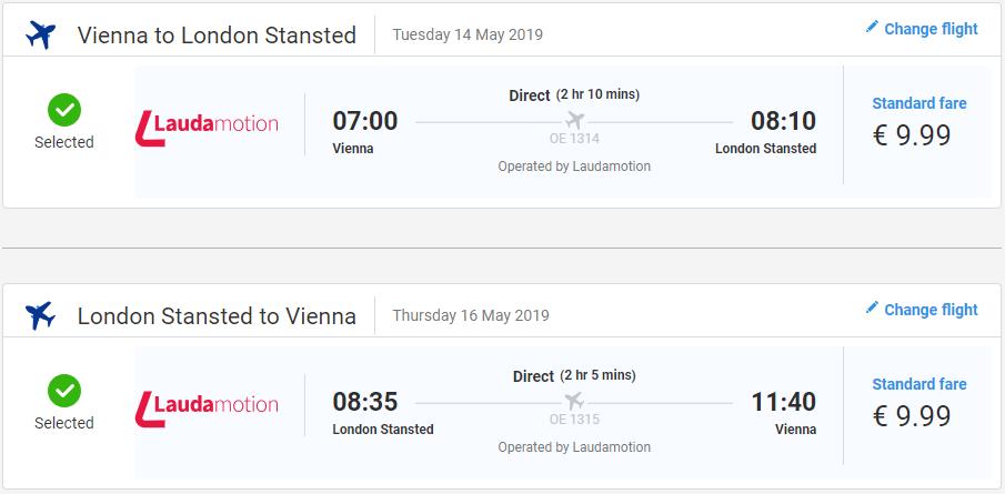 Londýn z Viedne v májových termínoch s letenkami od 20 eur