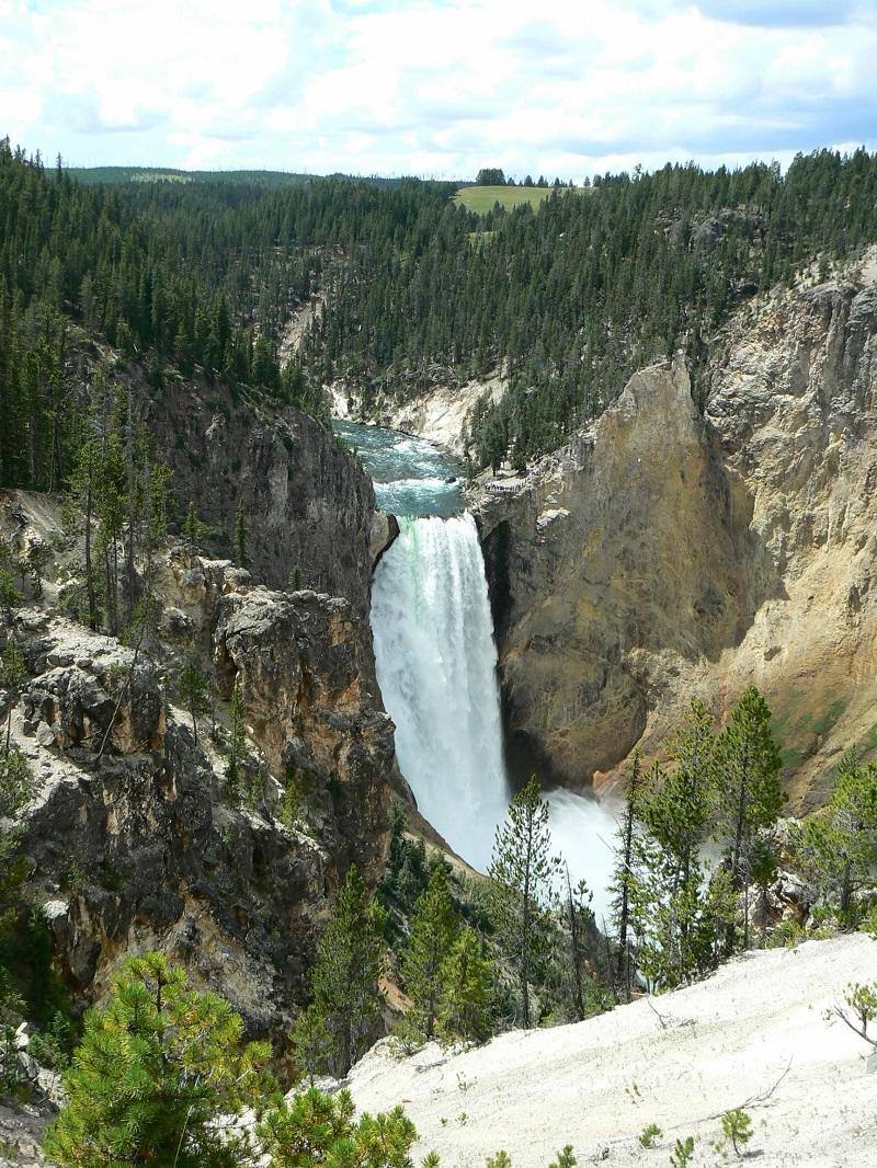 Lower Falls – Grand Canyonof Yellowstone