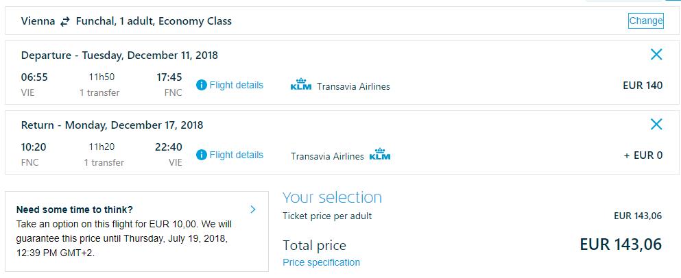 MADEIRA - Spiatočné letenky z Viedne od 143 eur
