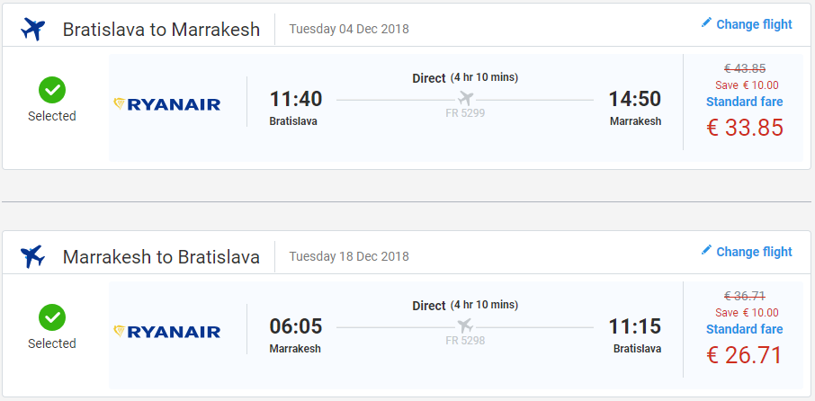 MAROKO Z BRATISLAVY - Marakéš s letenkami už od 61 eur