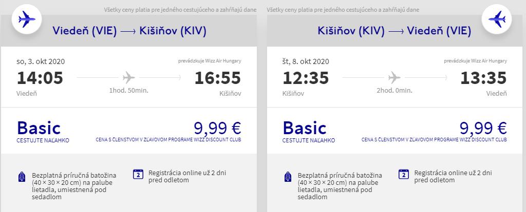 MOLDAVSKO - Kišinev z Viedne s letenkami od 20 eur