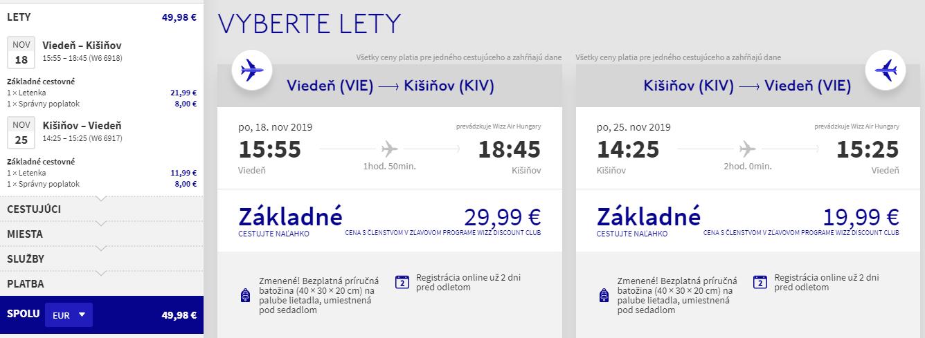 MOLDAVSKO - Kišinev z Viedne s letenkami od 50 eur