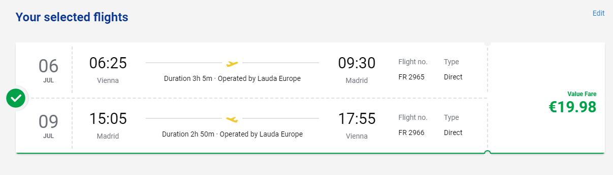Madrid cez letné prázdniny. Letenky z Viedne od 20 eur