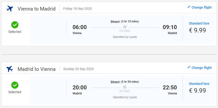 Madrid nie len na víkend. Spiatočné letenky z Viedne už od 20 eur