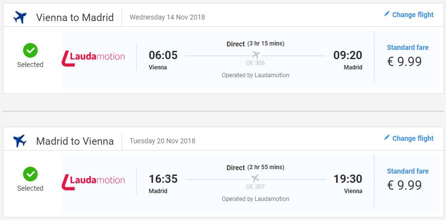Madrid z Viedne v zimných mesiacoch s letenkami od 20 eur