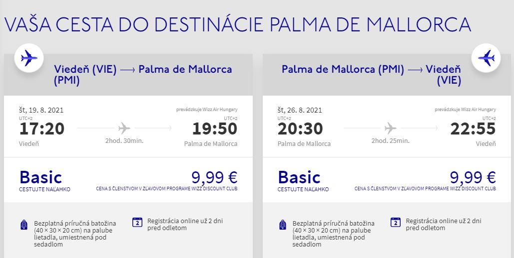 Mallorca koncom letných prázdnin. Letenky z Viedne už od 20 eur