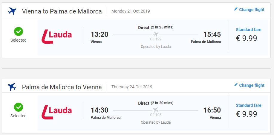 Mallorca z Viedne koncom sezóny s letenkami od 20 eur