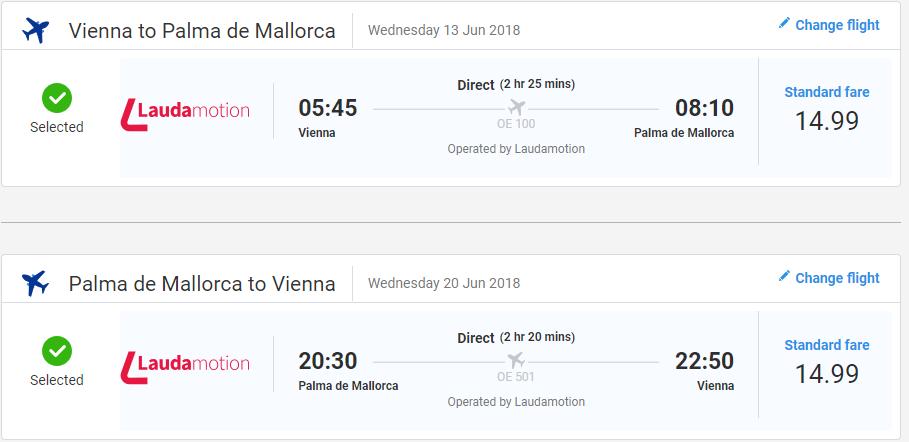 Mallorca z Viedne začiatkom leta s letenkami od 30 eur