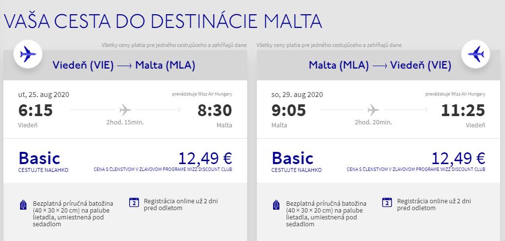 Malta koncom prázdnin. Letenky z Viedne od 25 eur