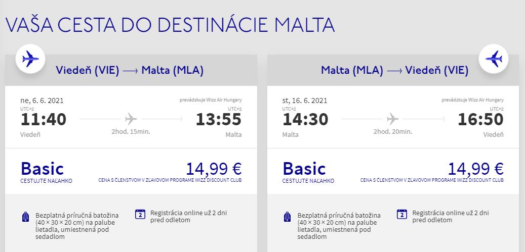 Malta začiatkom leta. Letenky z Viedne už od 30 eur