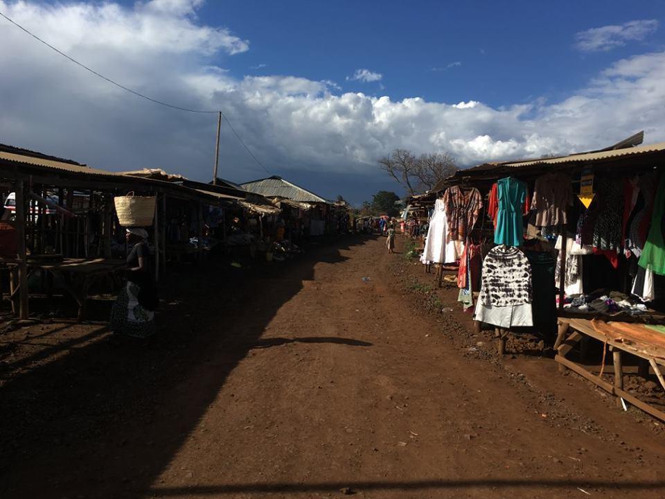 Memorial market, Moshi