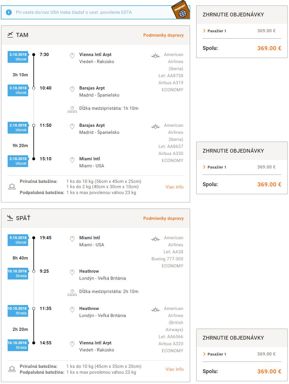 Miami lacno z Viedne s letenkami od 369 eur