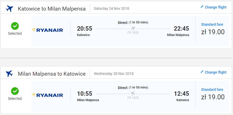 Miláno v novembrových termínoch s letenkami od 9€