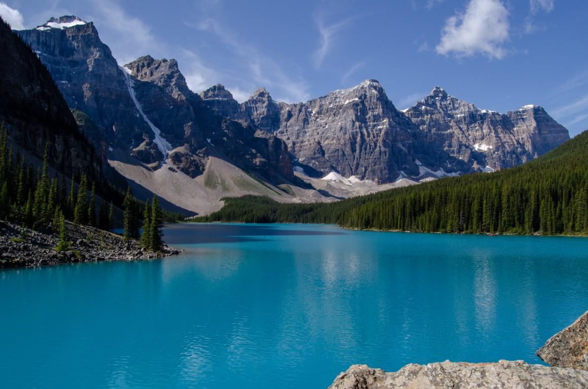 Moraine Lake, Kanada, Nomadi