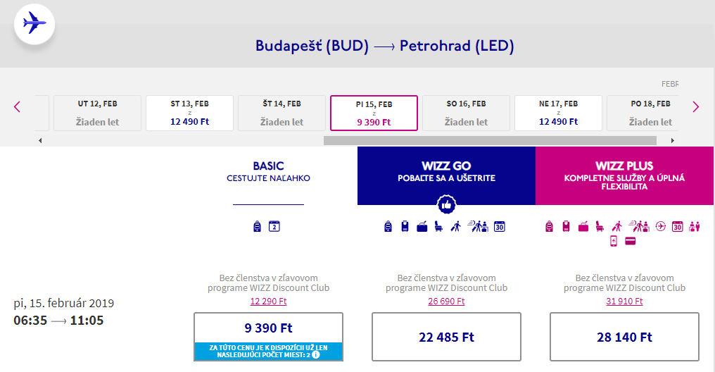 Moskva a Petrohrad v rámci jednej cesty od 64 eur