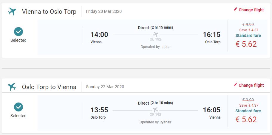 Nórske Oslo aj na víkend s letenkami z Viedne od 11 eur